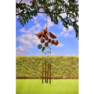 Tubular Wind Chime - Owl