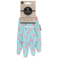 Mason & Jones Easy Grip Gardening Gloves - Flamingo