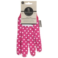 Mason & Jones Easy Grip Gardening Gloves - Pink Polka Dot