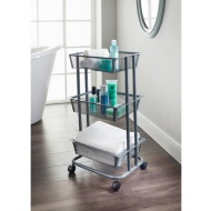 Spaceways 3 Tier Storage Trolley - Grey