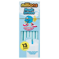 Millions Magic Straws 13pk - Bubblegum