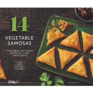 14 Vegetable Samosas 224g