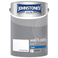 Johnstone's Matt Paint 5L - Brilliant White