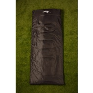 Outdoor Adventure Envelope Sleeping Bag - Black