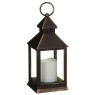 Small LED Lantern - Black