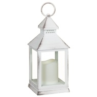 Small LED Lantern - White