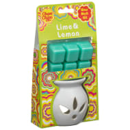 Chupa Chups Wax Burner & Melts - Lime & Lemon
