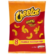 Cheetos Puffs 8 x 13g - Flamin' Hot