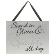Sparkle Mirror Plaque - Sparkle All Day