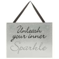 Sparkle Mirror Plaque - Unleash Your Inner Sparkle