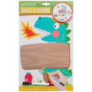 Writeable & Wipe Clean Wall Stickers - Dinosaur