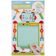 Writeable & Wipe Clean Wall Stickers - Robot