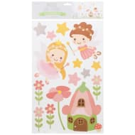 Pastel Wall Stickers - Fairies
