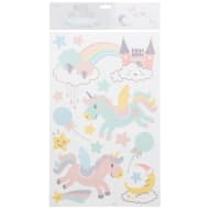Pastel Wall Stickers - Unicorns