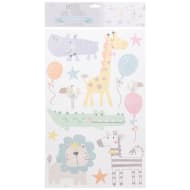 Pastel Wall Stickers - Zoo