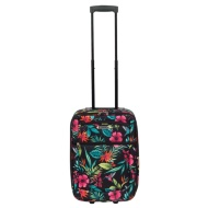 Tropical Floral Suitcase 49cm