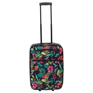 Tropical Floral Suitcase 55cm