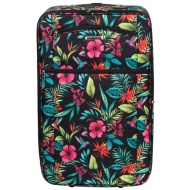 Tropical Floral Suitcase 72cm