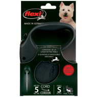 Flexi Dog Lead 5m - Small - Black