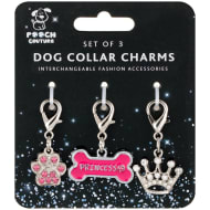 Dog Collar Charms 3pk