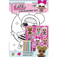 L.O.L Surprise! Colouring Set