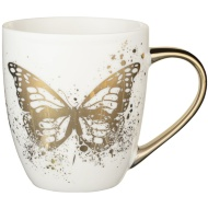 Gold Animal Mug - Butterfly