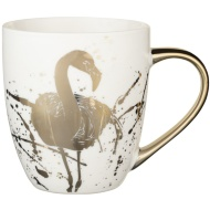 Gold Animal Mug - Flamingo
