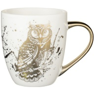 Gold Animal Mug - Owl