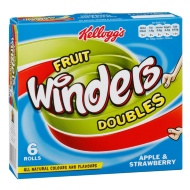 Kellogg's Fruit Winders 6pk - Apple & Strawberry