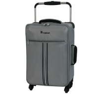 Lightweight Stripe Suitcase 55cm