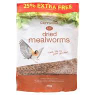 Glennwood Dried Mealworms Bird Food 500g