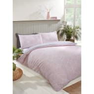 Geo Double Duvet Twin Pack - Blush