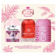 Flavoured Gin Selection 3pk - Pink, Raspberry, Rhubarb