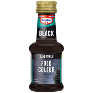 Dr. Oetker Food Colour 38ml - Black