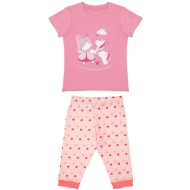 Toddler Girl Crop Pyjamas - Princess & Unicorn