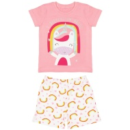 Toddler Girl Short Pyjamas - I Believe in Magic