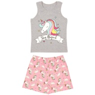 Older Girl Vest Pyjamas - Stay Magical