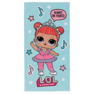 Kids L.O.L. Surprise! Towel - Blue