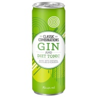 Classic Combinations Gin & Diet Tonic 250ml