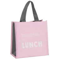 Slogan Lunch Bag - Happiness is Lunch