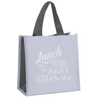 Slogan Lunch Bag - Lunch Hour is the Best