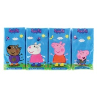 Peppa Pig Pocket Tissues 8pk