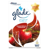 Glade Scented Oil PlugIns Refill 200ml - Spiced Apple & Cinnamon