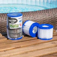 Lay-Z-Spa Hot Tub Filter Cartridges 2pk