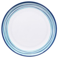 Round Printed Side Plate - Border