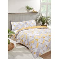 Geo King Duvet Twin Pack - Ochre