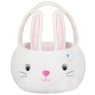 Bunny Plush Easter Egg Basket