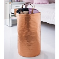 Metallic Laundry Bag - Rose Gold