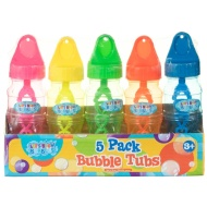 Bubble Tubs 5pk
