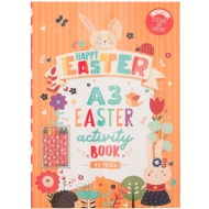 Easter A3 Activity Book 40 Pages